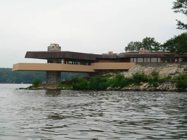 A Frank Lloyd Wright-designed home on Lake Mahopac's Petra Island will serve as the venue for a Professional Women of Putnam fundraiser that will benefit Community Cares and The Ty Louis Campbell Foundation.