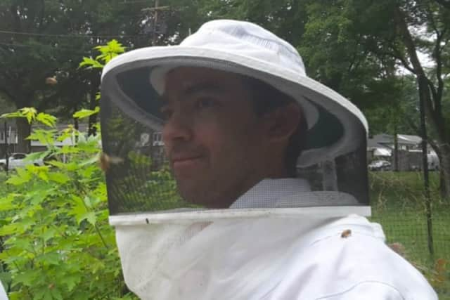 Ivan Wei is a beekeeper.