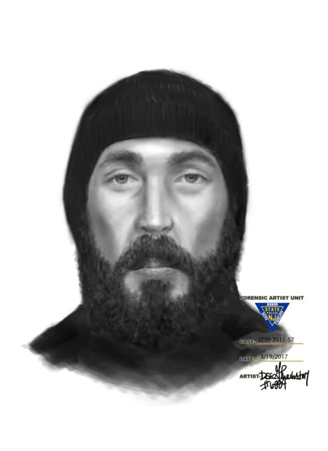 Anyone who can ID the man in this sketch is asked to call Fair Lawn PD:: (201) 794-5410.