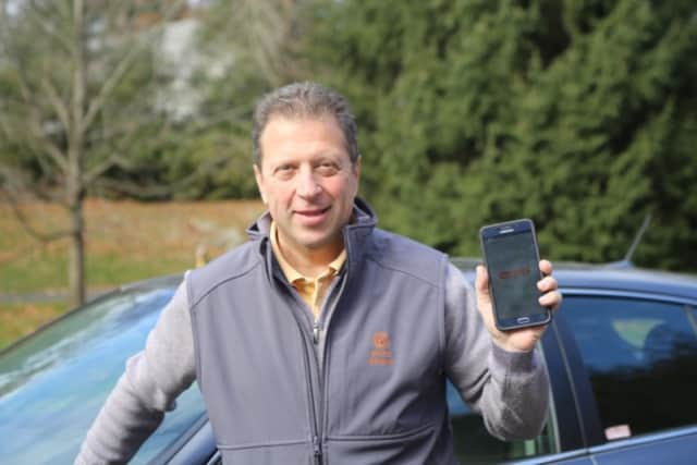 Tom Fiorita, Point Pickup's founder and CEO, takes his delivery service high-tech.