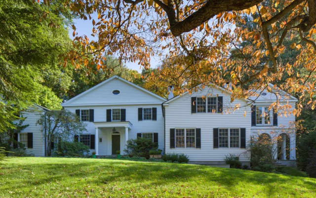 Privately situated on over 1.3 gated and overlooking the second hole of Ardsley Country Club, Houlihan Lawrence Real Estate's listing at 164 Washington Avenue offers luxury living in a picture perfect setting.