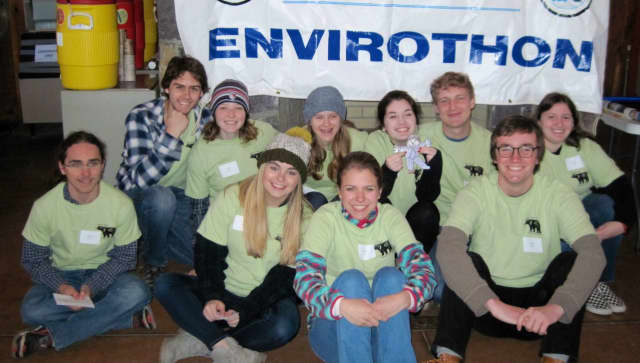 AP Environmental students from John Jay High School recently competed in the Hudson Valley Regional Envirothon.