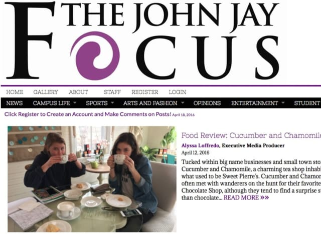 "John Jay High School has launched an online newspaper called ""The John Jay Focus."""