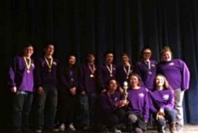 Students from John Jay High School recently placed fourth in the Science Olympiad out of 43 school participating. They will move on to the state competition in March.