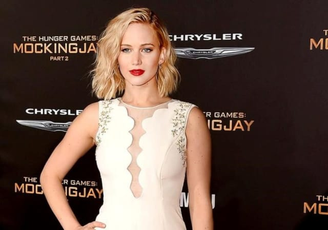 Actress Jennifer Lawrence was on a plane to Teterboro Airport that was forced to make an emergency landing.