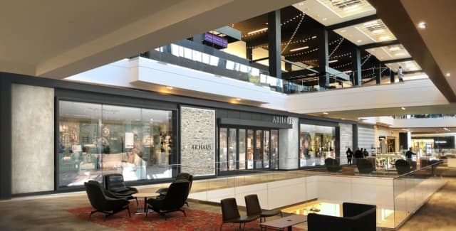 Arhaus is a new retailer in the SoNo Collection mall in Norwalk.