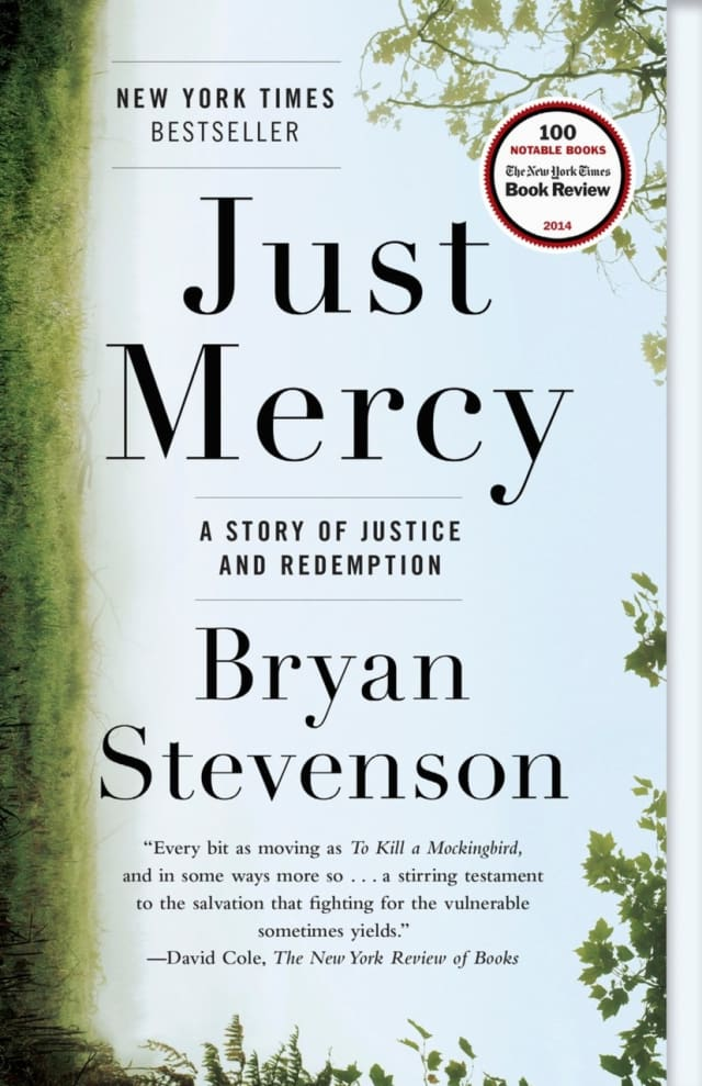 Author Brian Stevenson will lecture and sign copies of his book.