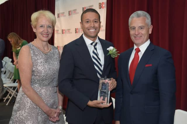 """Pace's Bill Colona has been named one of the """"40 under 40"""" rising professionals by Business Council of Westchester."""