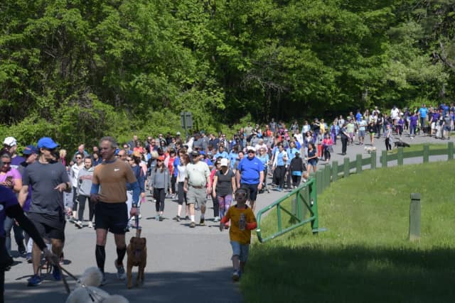 More than 600 people participated in the Northwell Health Walk
