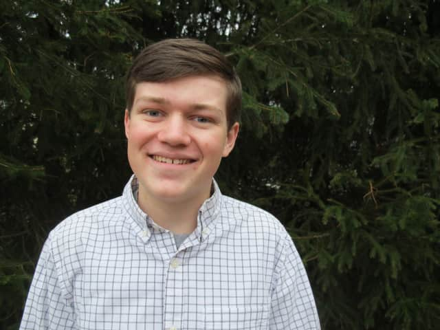 """John Jay High School senior Jack Brotmann has been named an Intel Science Talent Search semifinalist for his project, """"Hemoglobin Coated Nanoparticles: A Potential Model for Pro-inflammatory Microparticles in Circulation."""""""