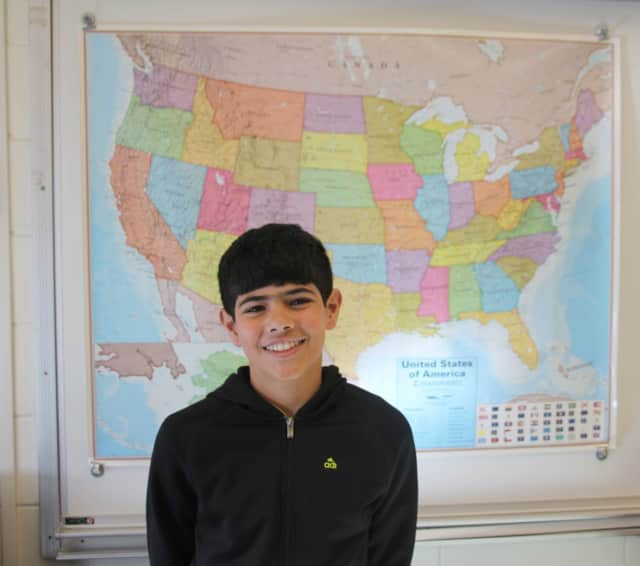 Vikram Jallepalli, an eighth-grader at the Pelham Middle School, took home first place recently in the school district's National Geographic Bee. If he passes an exam in January, Vikram could go on to compete on the state levels.