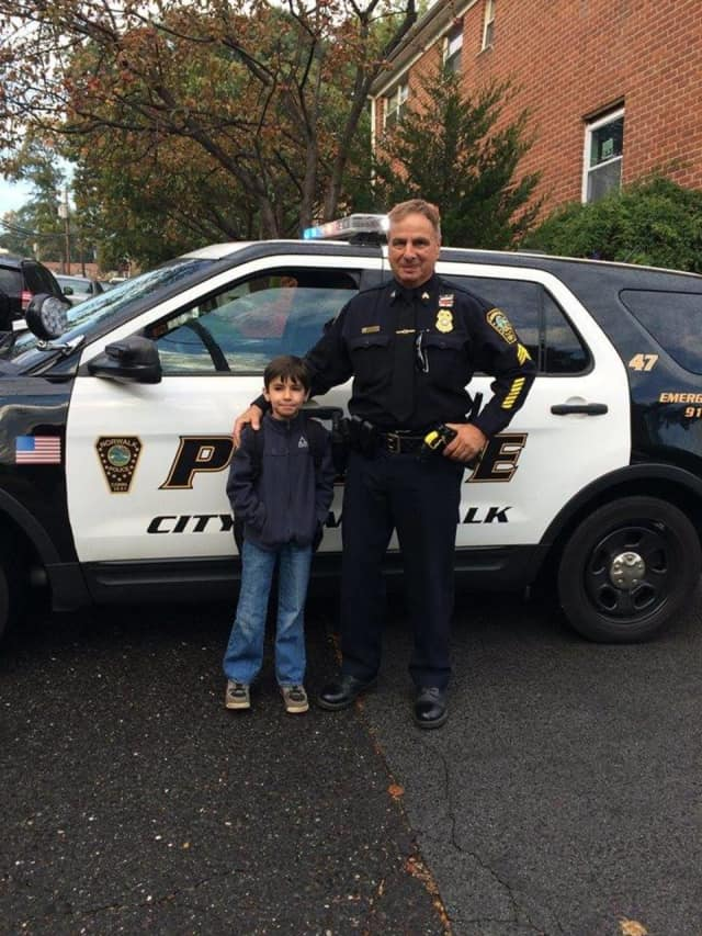 Sgt. James Belmont retired on Dec. 31 from the Norwalk Police Department.