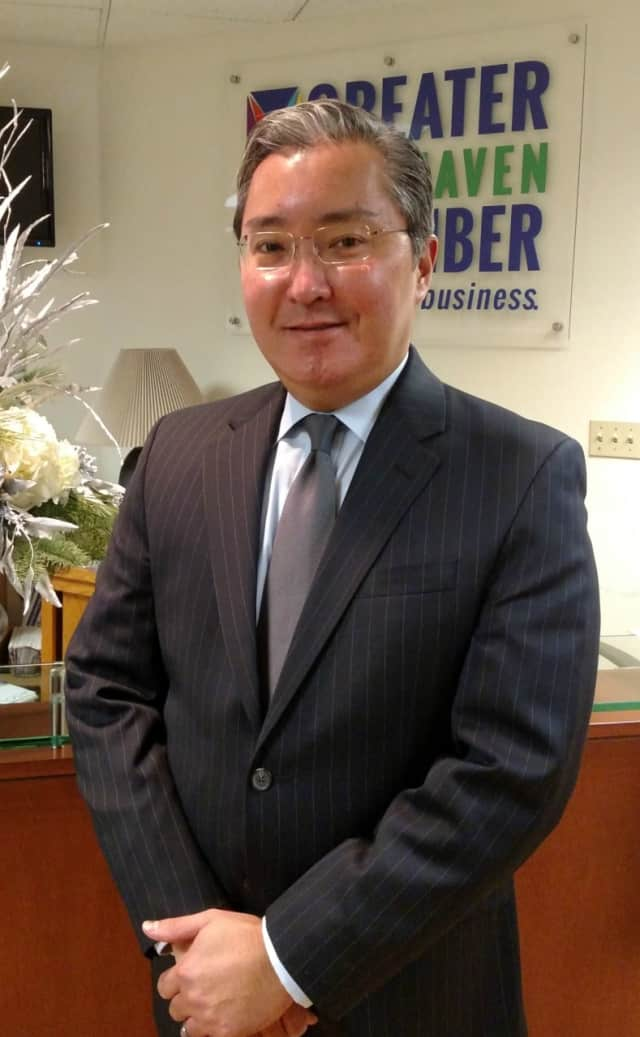 Fairfield resident James Takami is the new chief financial officer at the Greater New Haven Chamber of Commerce.