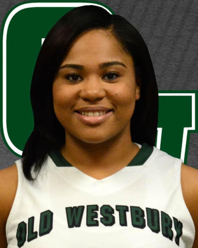 SUNY Old Westbury's Jasmine Robinson, a graduate of Alexander Hamilton High School, has been leading the college women's basketball team this season.