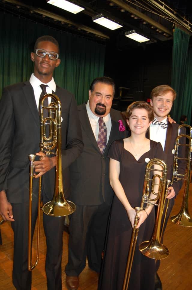 From left, Samuel Brown, Robert Vitti, Lauren Pelligrini and Charles Simmons.