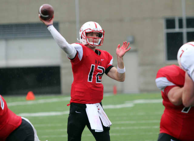 Jeffrey Avery, of White Plains, is a captain of the RPI football team.