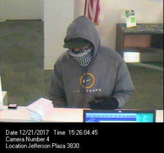 The bank robbery suspect.