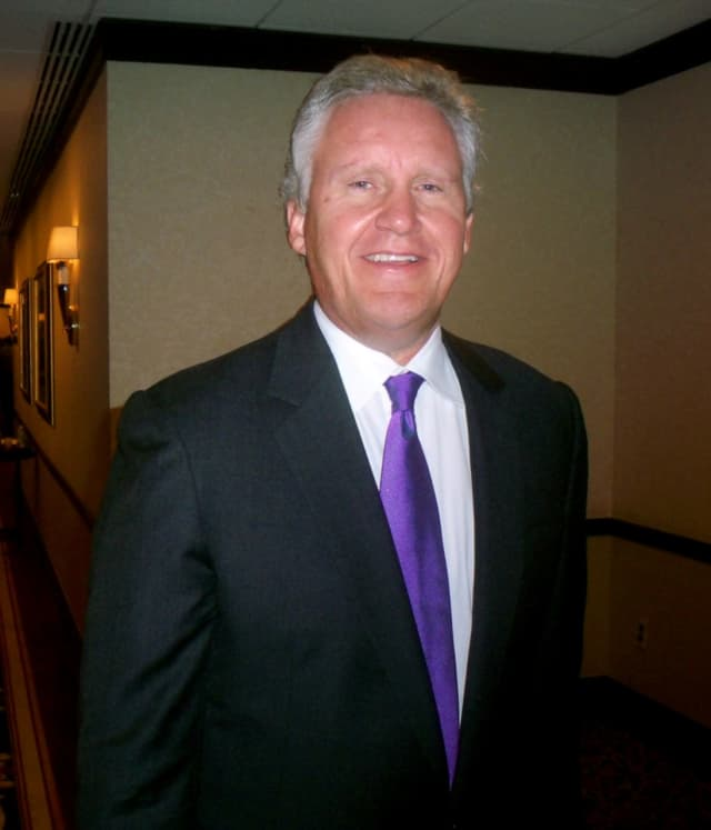 New Canaan's Jeffrey Immelt, CEO of General Electric.