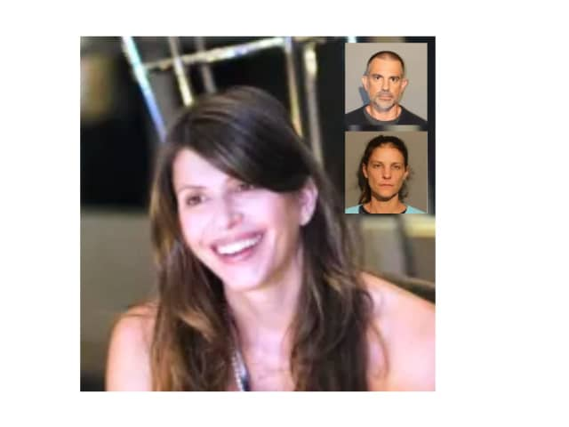 Jennifer Farber Dulos, her estranged husband Fotis Dulos and his girlfriend Michelle Troconis.