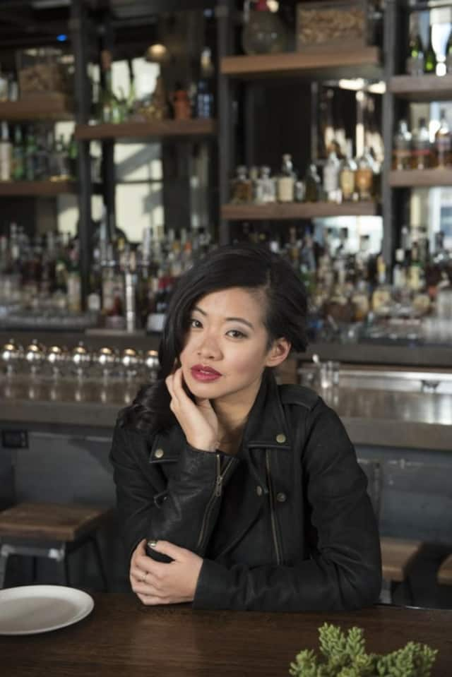 """Jessica Tom is the author of """"Food Whore"""", her first novel."""