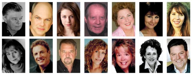 Top row: Jim Gordon, John Flaherty, Molly Garbe, Larry Greeley, Cynthia Hannah, Marca Leigh, Kimberley Lowden; bottom row: Florence Phillips, Frank Piazza, Jim Schilling, Katie Sparer, Kimberly Squires, Nadine Willig and Allan Zeller