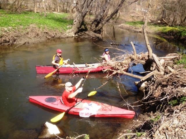 Volunteers from Groundwork's 2015 Great Saw Mill River Cleanup.
