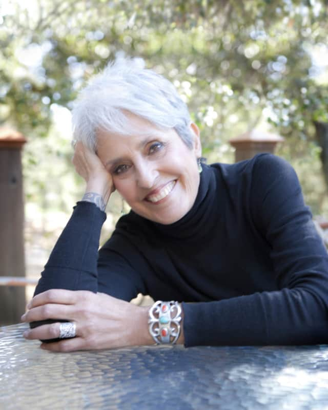 Joan Baez will perform at the Bergen Performing Arts Center in early March.
