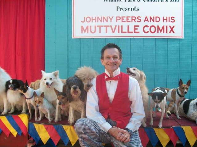 Johnny Peers and the Muttville Comix will perform at the Ridgefield Playhouse Oct. 16.