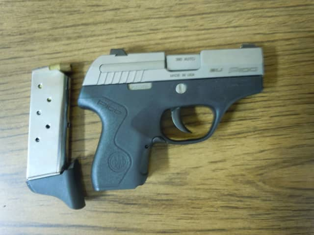 Jose Bermudez, 26, of Jacksonville, North Carolina was found to be in possession of a Beretta Pico .380 auto handgun during a Taconic State Parkway traffic stop, police say.