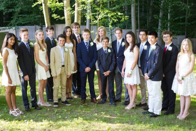 These eighth-graders graduated June 17 from Whitby School in Greenwich.