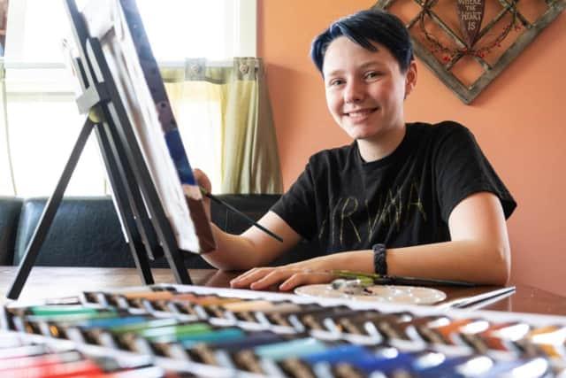 Jordan Duffy, 14, of Tappan.