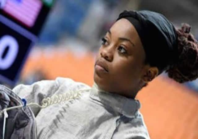 A fundraiser for Kamali Thompson, a 2016 Olympic fencing hopeful, takes place Oct. 18 at Mexicali Live.