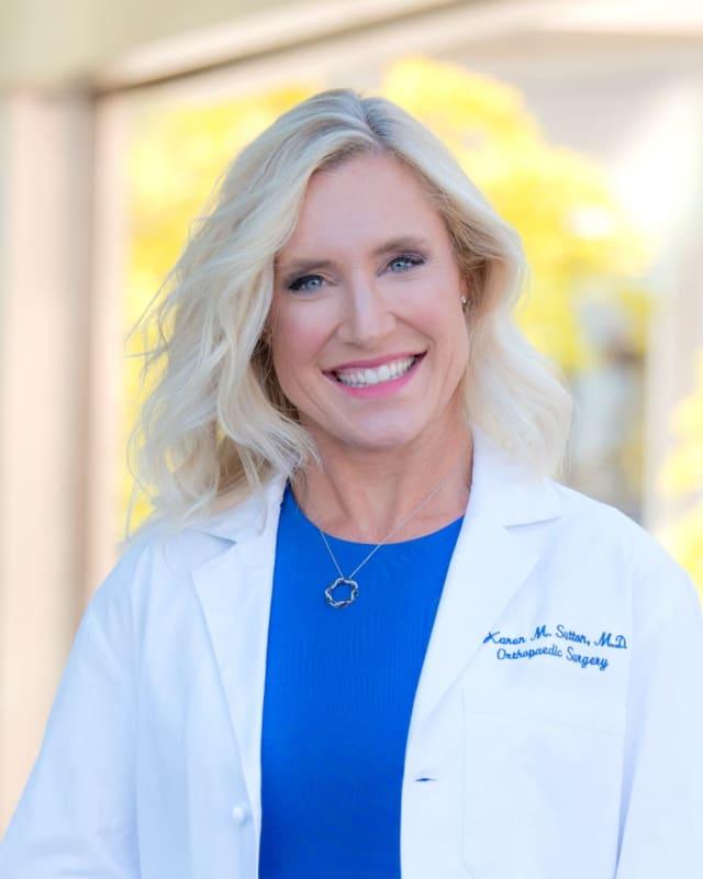 Karen Sutton, sports medicine surgeon at HSS.