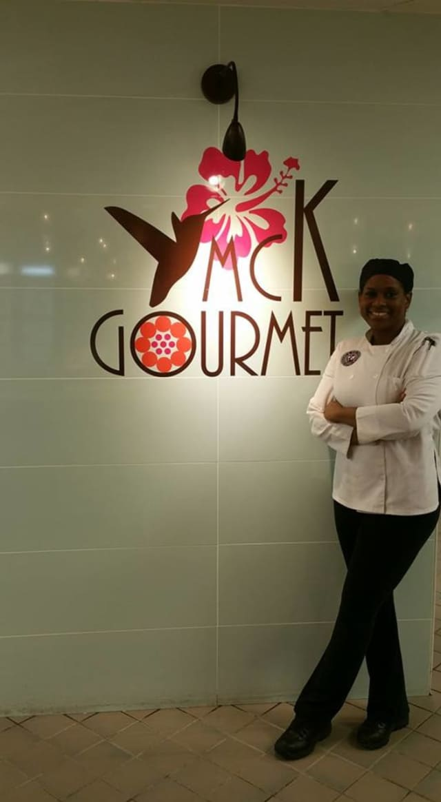 Chef Kashia Cave of Shelton's new MCK Gourmet.