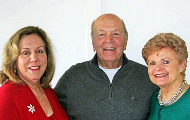 Katherine Quinn, Support Connection's founding executive director who has led the organization for 20 years, with Rich Adamski and Nancy Heller, Support Connection co-founders
