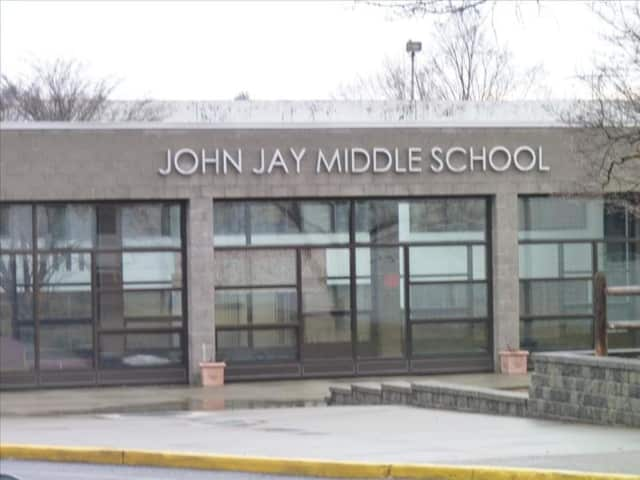 John Jay Middle School will hold a fifth-grade student orientation for incoming sixth graders on Wednesday, April 27.