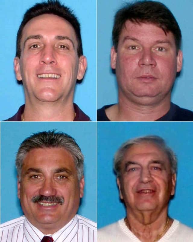 CLOCKWISE (from top left): Kevin Keough, Paul Bazela, Chester Mazza, Anthony Ardis