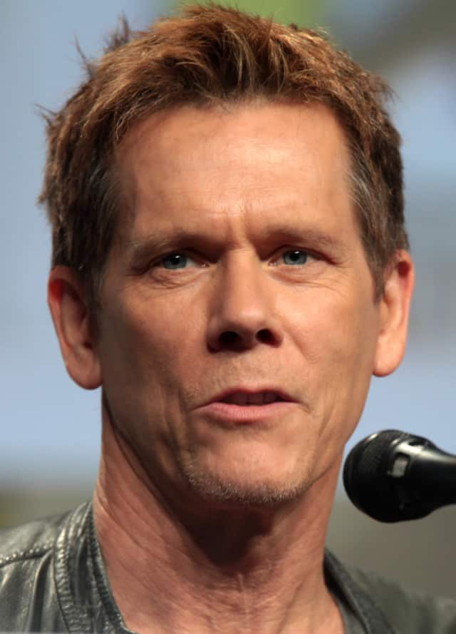 "Kevin Bacon hangs out in Yonkers to celebrate his classic film ""Terror."""