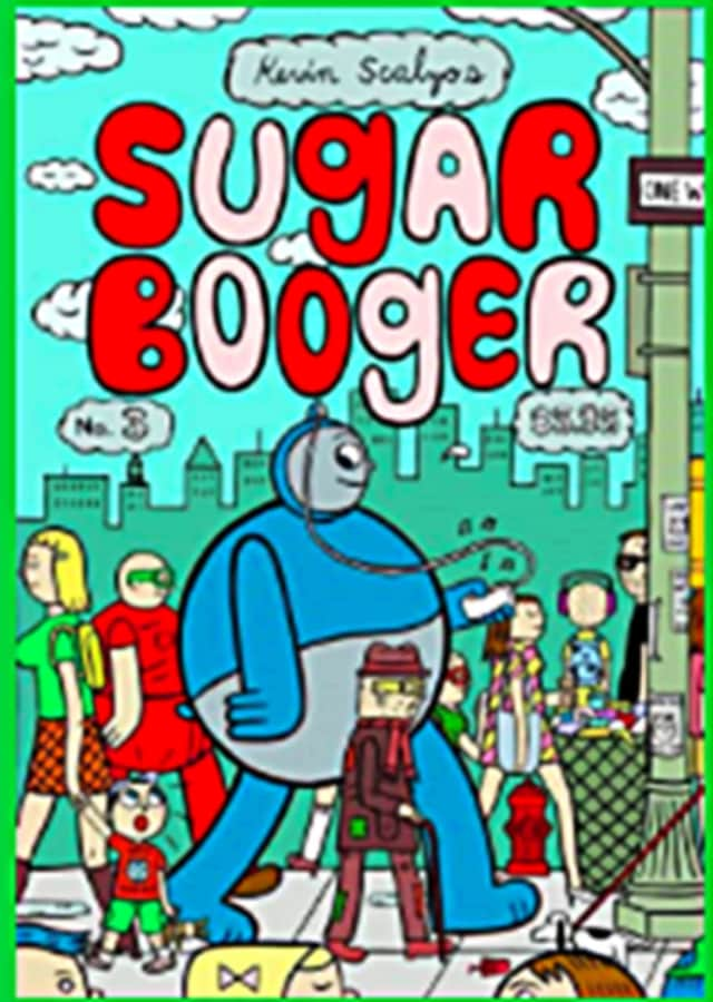 """Kevin Scalzo, author of the comic book """"Sugar Booger,"""" will join the second comic book workshop."""