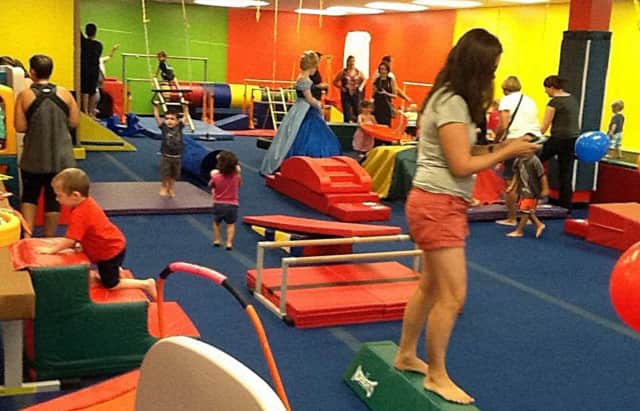 "Kids Party Play Tumble is one of the venues which will provide info about its summer programs at Haworth Library's ""Camp-A-Looza."""