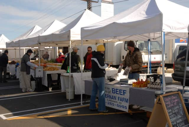 The Larchmont Farmer's Market.