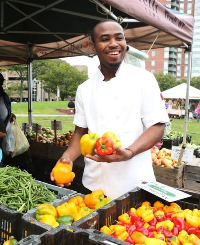 Chef Kimani Hines of Alvin & Friends in New Rochelle.