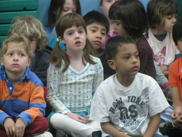 Rockland state Assembly members Ken Zebrowski and James Skoufis announced their proposal to better assist school districts' transition to full-day kindergarten on Monday at the Haverstraw Town Hall.