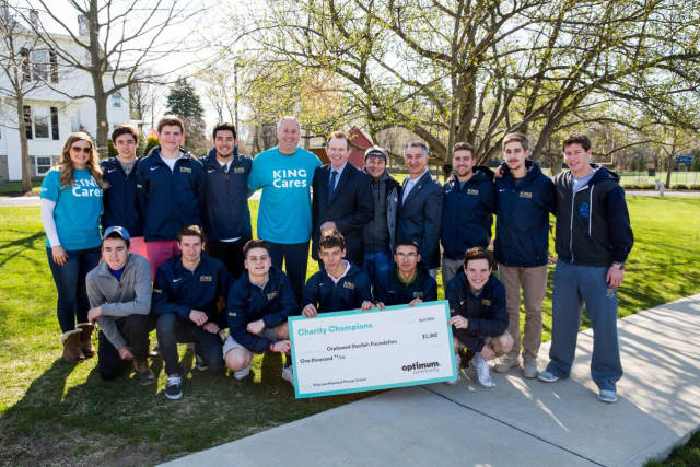 Students at King Low Heywood Thomas School Participate in Optimum Community's 7th Annual Charity Champions Program.