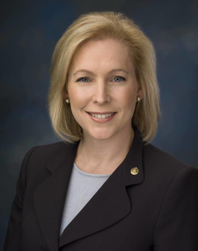 Senator Kirsten Gillibrand will speak at Greenburgh's DeSanti Park this Veteran's Day.