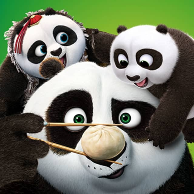 "Catch ""Kung Fu Panda"" at the Bogota Library July 14"