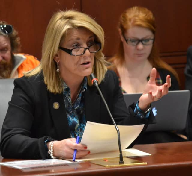 State Rep. Brenda Kupchick of Fairfield has proposed legislation to increase mental health and addiction coverage.