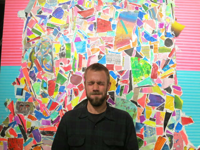 Ridge Hill's most recent commission is a mural by New York City artist Nick Kuszyk.