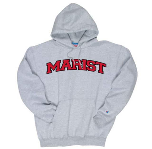 A woman wearing a Marist College sweatshirt was found dead in the woods in Massachusetts.
