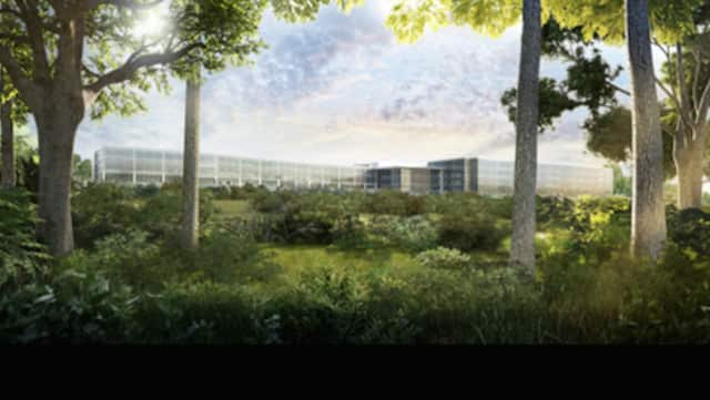 LG's new headquarters in Englewood Cliffs will be half of the height originally proposed.